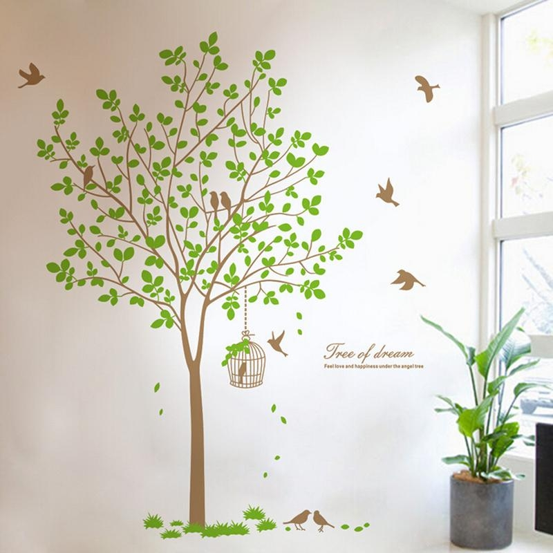 Online Buy Wholesale 3D Family Tree Wall Art From China 3D Family Inside 3D Tree Wall Art (View 15 of 20)