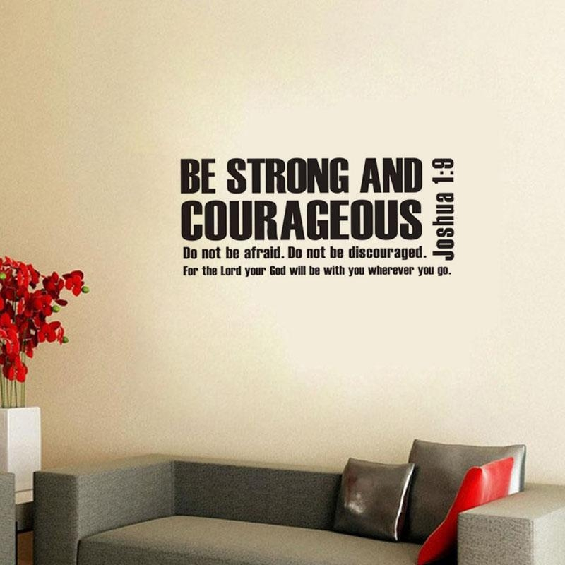Online Buy Wholesale Bible Verse Wall Decals From China Bible With Regard To Bible Verses Wall Art (Image 14 of 20)