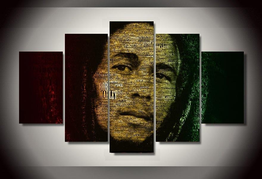 Online Buy Wholesale Bob Marley Canvas From China Bob Marley For Bob Marley Canvas Wall Art (View 3 of 20)