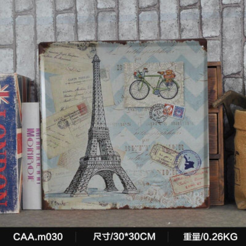 Online Buy Wholesale Eiffel Tower Metal Wall Art From China Eiffel Throughout Eiffel Tower Metal Wall Art (Image 18 of 20)