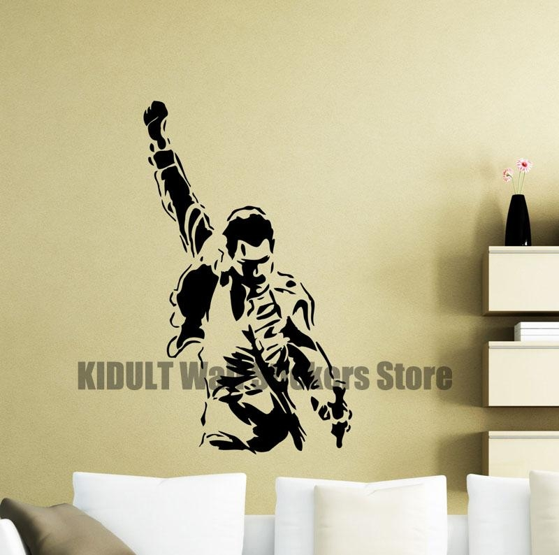 Online Buy Wholesale Freddie Mercury Art From China Freddie Inside Freddie Mercury Wall Art (Image 15 of 20)