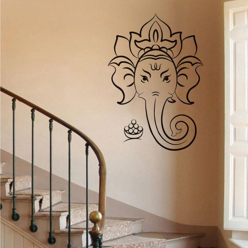 Online Buy Wholesale Ganesh Wall Art From China Ganesh Wall Art Pertaining To Ganesh Wall Art (View 19 of 20)