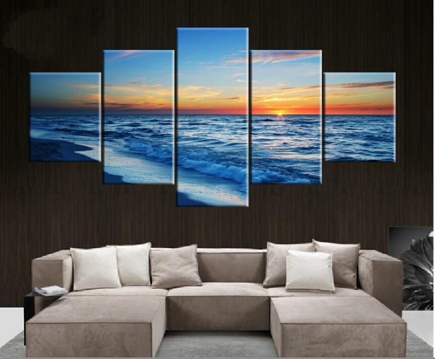 Online Buy Wholesale Large Horizontal Wall Art From China Large Pertaining To Horizontal Canvas Wall Art (Image 7 of 20)