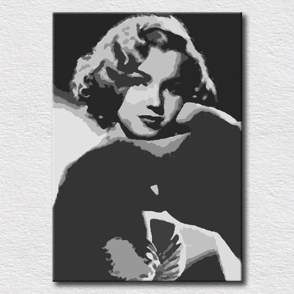 Online Buy Wholesale Marilyn Monroe Canvas Art From China Marilyn With Regard To Marilyn Monroe Black And White Wall Art (Image 20 of 20)