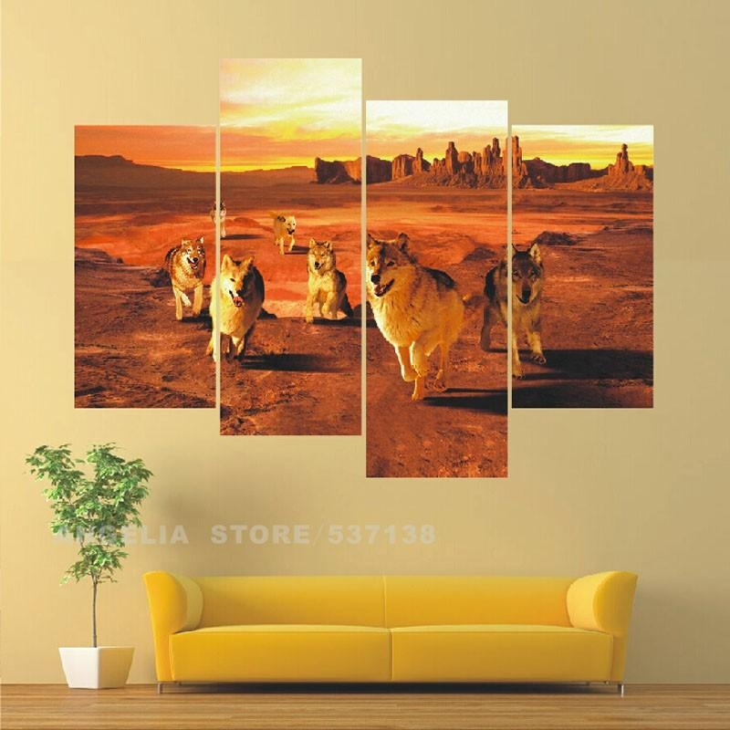 Online Buy Wholesale Multi Panel Mirror From China Multi Panel Inside Multi Panel Canvas Wall Art (View 3 of 10)