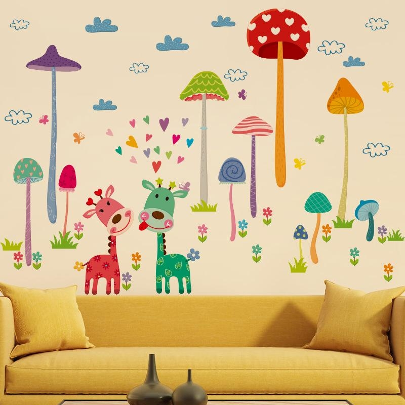 Online Buy Wholesale Mushroom Wall From China Mushroom Wall Throughout Mushroom Wall Art (Image 15 of 20)