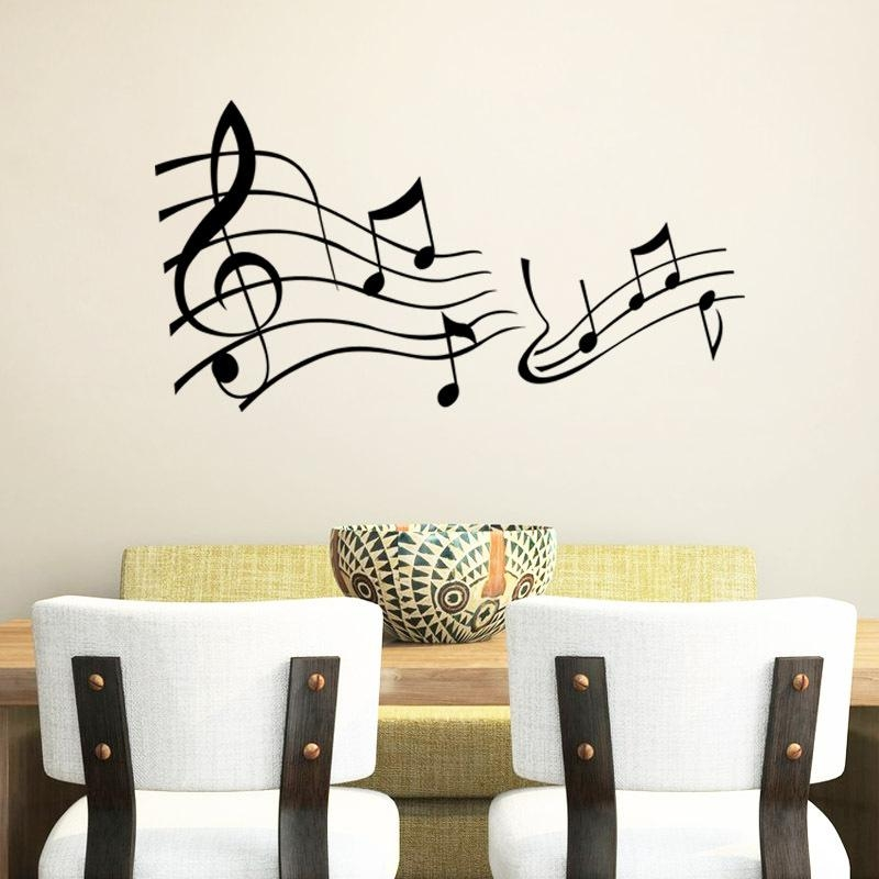 Online Buy Wholesale Music Note Wall Art From China Music Note With Regard To Music Note Wall Art (Image 16 of 20)