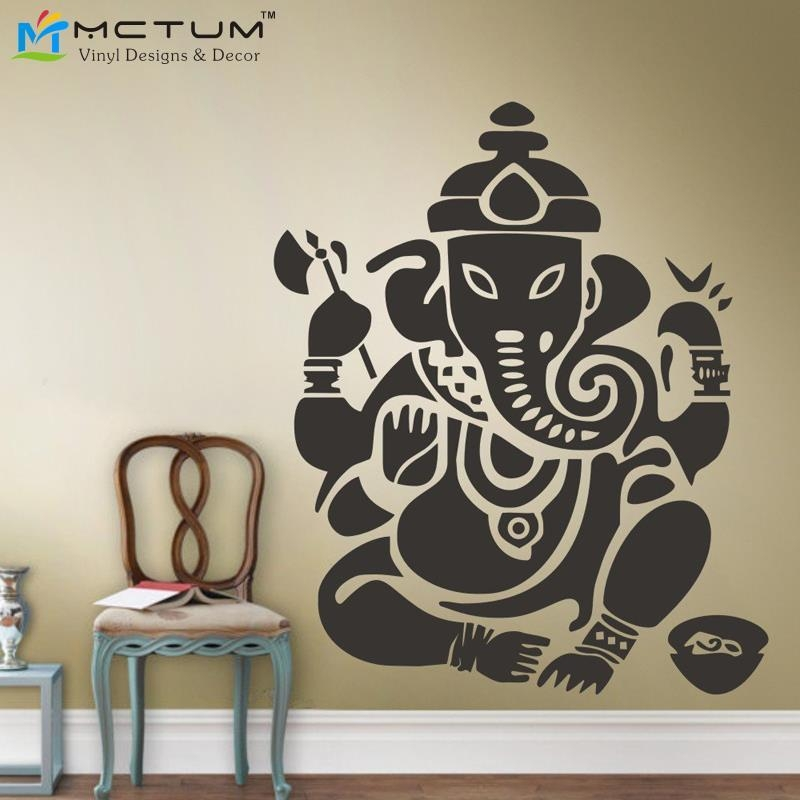 Online Buy Wholesale Om Ganesh Wall Art From China Om Ganesh Wall Intended For Ganesh Wall Art (View 14 of 20)