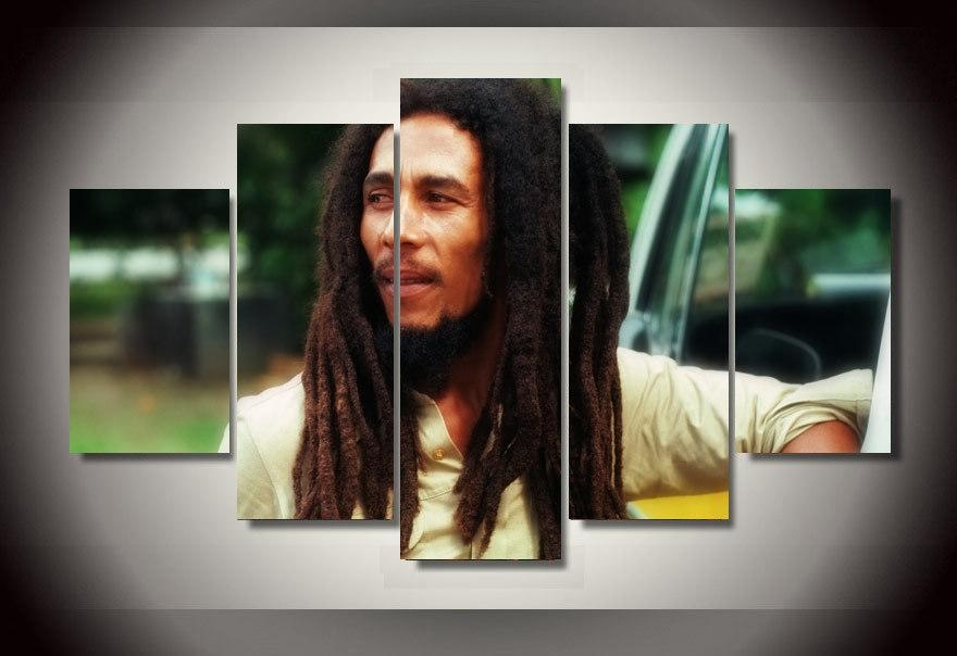 Online Buy Wholesale Paintings Bob Marley From China Paintings Bob Throughout Bob Marley Canvas Wall Art (View 7 of 20)