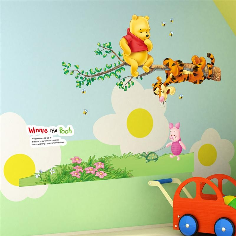 Online Buy Wholesale Pooh Wall Art From China Pooh Wall Art Intended For Winnie The Pooh Wall Art (View 11 of 20)