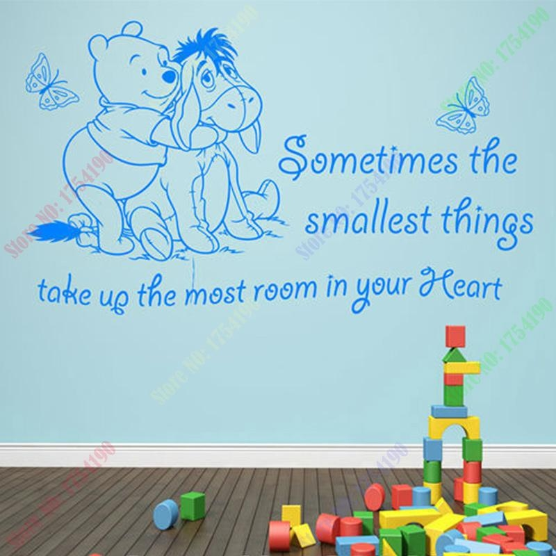 Online Buy Wholesale Pooh Wall Art From China Pooh Wall Art Pertaining To Winnie The Pooh Wall Art (View 17 of 20)