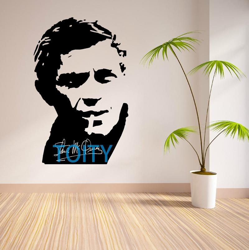 Online Buy Wholesale Steve Mcqueen Posters From China Steve Intended For Steve Mcqueen Wall Art (View 7 of 20)