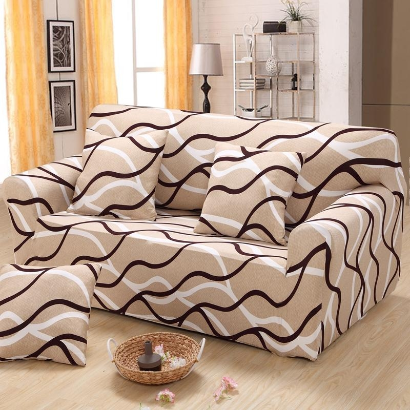 Online Buy Wholesale Striped Sofa Slipcovers From China Striped Inside Striped Sofa Slipcovers (View 8 of 20)