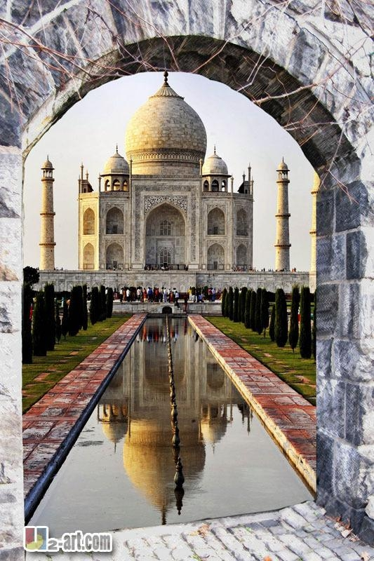 Online Buy Wholesale Taj Mahal Art From China Taj Mahal Art In Taj Mahal Wall Art (Image 8 of 20)
