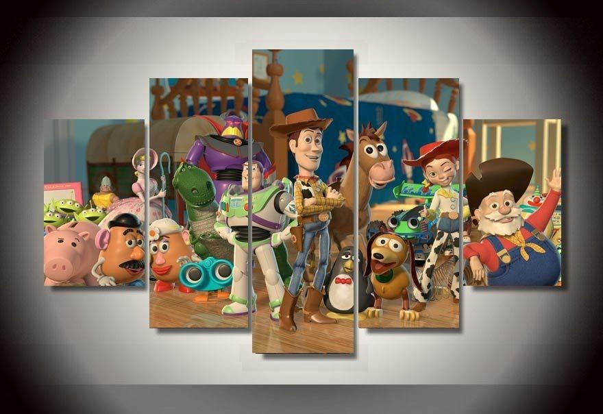 Online Buy Wholesale Toy Story Wall Art From China Toy Story Wall In Toy Story Wall Art (View 4 of 20)