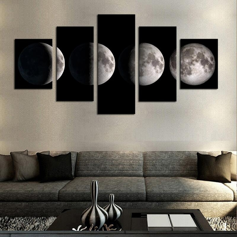 Online Get Cheap Black And White Canvas Wall Art  Aliexpress Intended For Cheap Black And White Wall Art (Image 7 of 20)