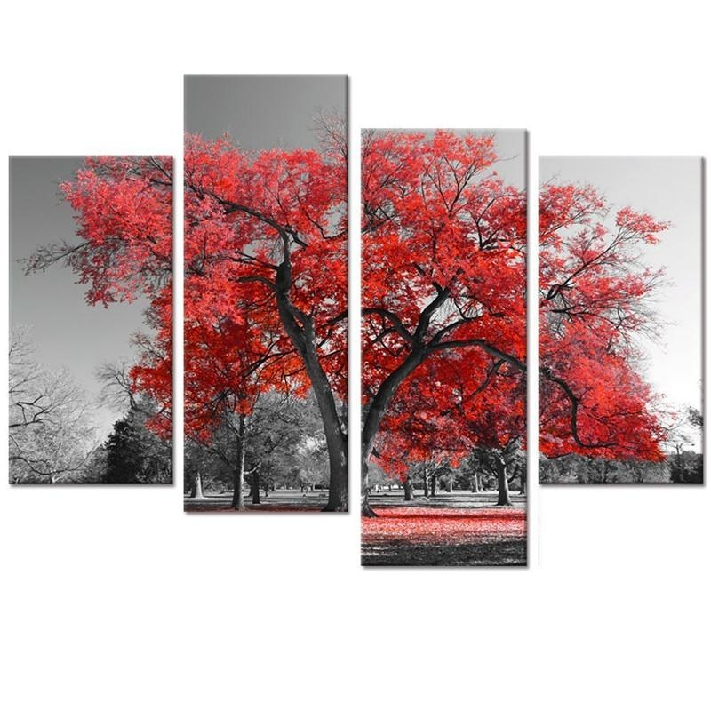 Online Get Cheap Black Forest Art  Aliexpress | Alibaba Group Within Cheap Black And White Wall Art (Image 10 of 20)