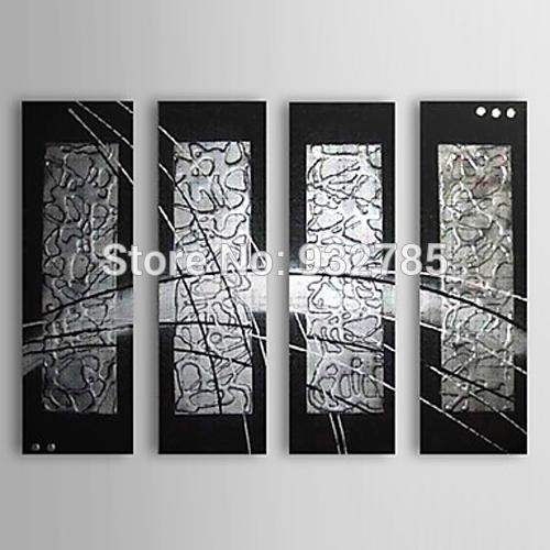 Online Get Cheap Black Silver Wall Art  Aliexpress | Alibaba Group In Black Silver Wall Art (Image 13 of 20)
