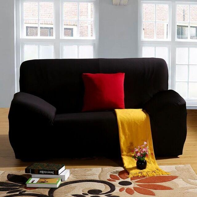 Online Get Cheap Black Sofa Slipcover  Aliexpress | Alibaba Group For Black Sofa Slipcovers (Image 11 of 20)