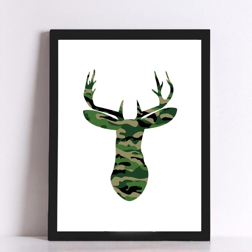 Online Get Cheap Camouflage Art  Aliexpress | Alibaba Group Throughout Camouflage Wall Art (Image 17 of 20)
