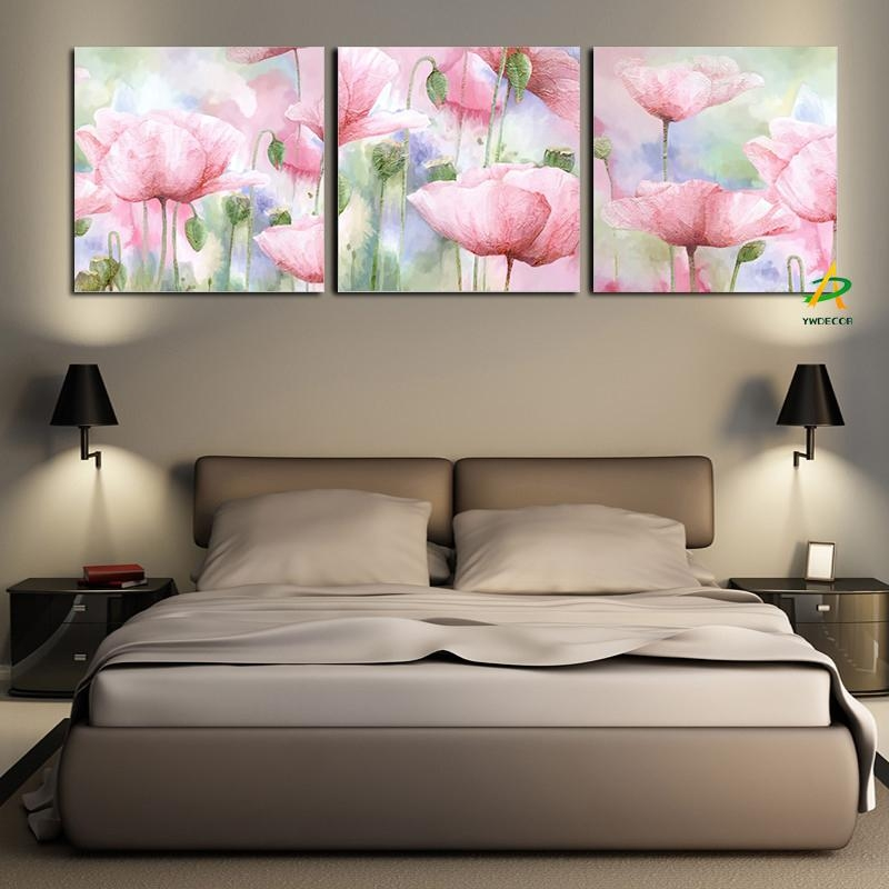 Online Get Cheap Canvas Poppies  Aliexpress | Alibaba Group For Red Poppy Canvas Wall Art (Image 9 of 20)