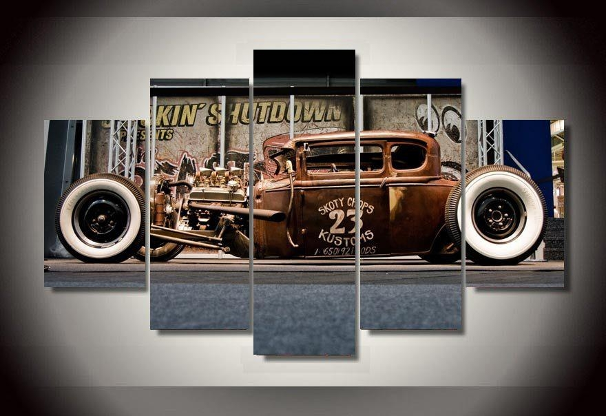 Online Get Cheap Classic Car Art Aliexpress | Alibaba Group In Classic Car Wall Art (Image 13 of 20)