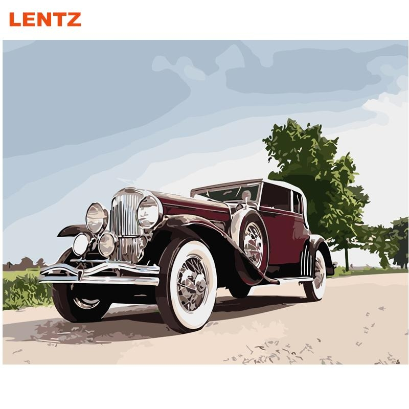 Online Get Cheap Classic Car Artwork Aliexpress | Alibaba Group With Regard To Classic Car Wall Art (Image 15 of 20)