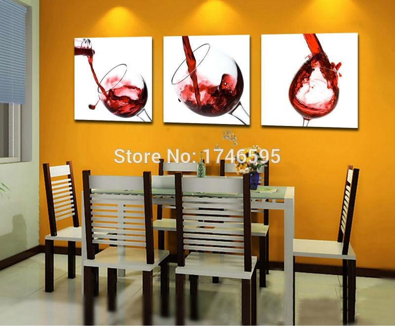 Online Get Cheap Dining Room Wall Art Aliexpress | Alibaba Group With Modern Wall Art For Dining Room (View 18 of 20)