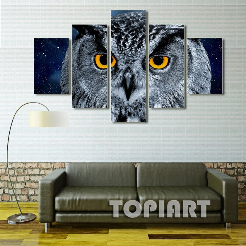 Online Get Cheap Framed Owl Art  Aliexpress | Alibaba Group For Owl Framed Wall Art (Image 13 of 20)