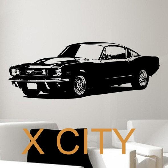 Online Get Cheap Graphic Wall Art Aliexpress | Alibaba Group With Regard To Classic Car Wall Art (Image 16 of 20)