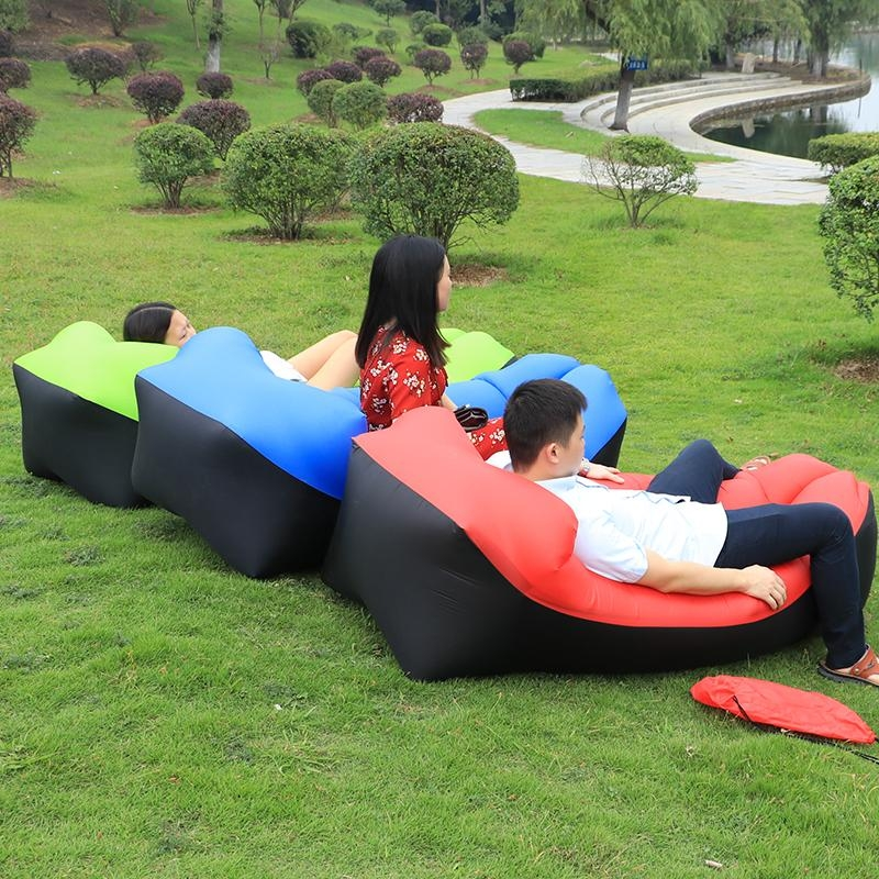 Online Get Cheap Inflatable Sofas  Aliexpress | Alibaba Group Regarding Camping Sofas (Image 18 of 20)