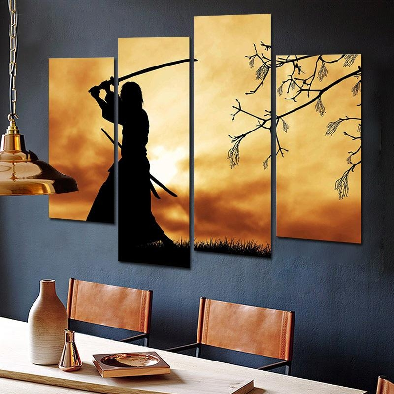 Online Get Cheap Japanese Wall Art  Aliexpress | Alibaba Group Throughout Japanese Wall Art Panels (Image 12 of 20)
