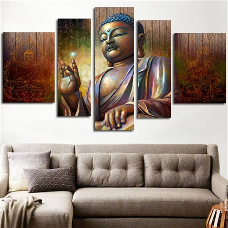 Online Get Cheap Large Buddha Wall Art Aliexpress | Alibaba Group Intended For Large Buddha Wall Art (View 9 of 20)