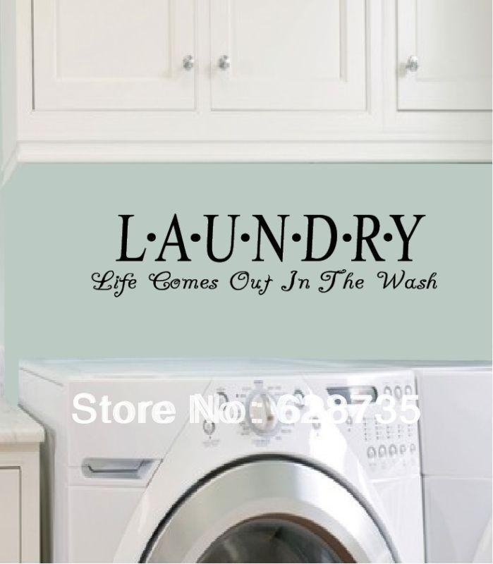 Online Get Cheap Laundry Room Decor  Aliexpress | Alibaba Group Regarding Laundry Room Wall Art (Image 17 of 20)