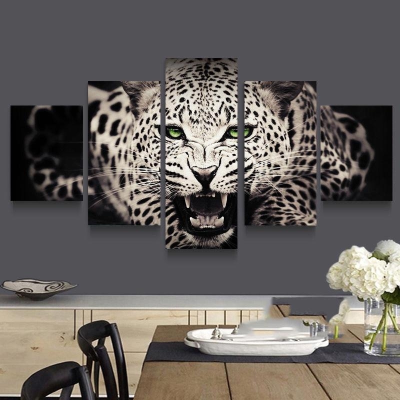 Online Get Cheap Leopard Print Wall Aliexpress | Alibaba Group Intended For Leopard Print Wall Art (View 14 of 20)