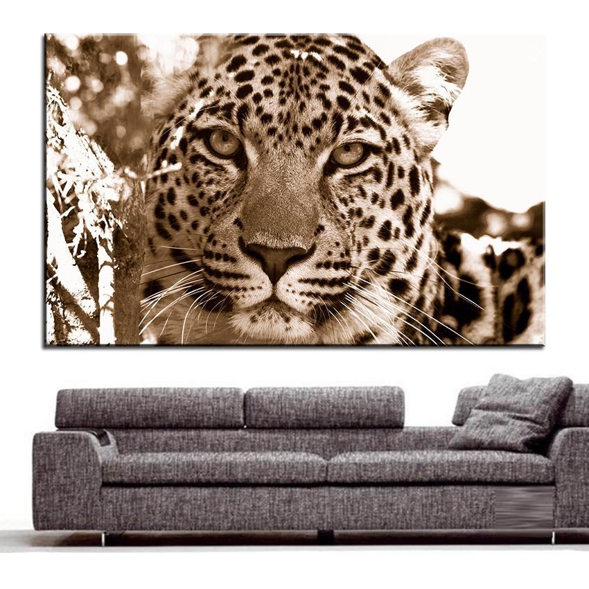 Online Get Cheap Leopard Print Wall Art Aliexpress | Alibaba For Leopard Print Wall Art (View 6 of 20)
