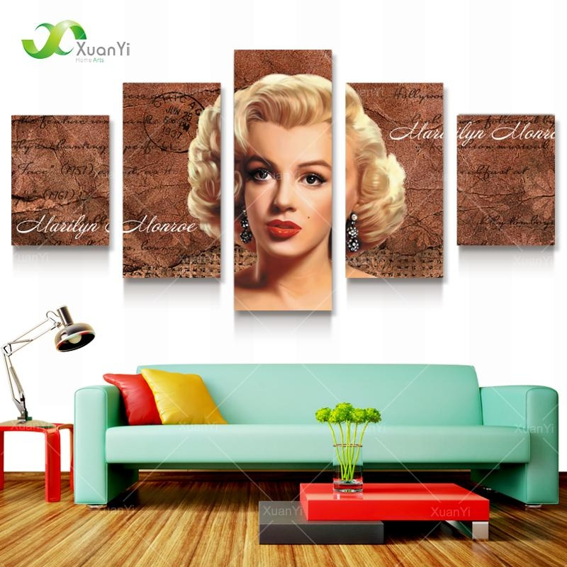 Online Get Cheap Marilyn Monroe Canvas Prints Aliexpress In Marilyn Monroe Framed Wall Art (View 16 of 20)