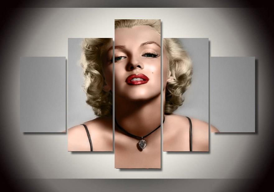 Online Get Cheap Marilyn Monroe Framed Art Aliexpress Regarding Marilyn Monroe Framed Wall Art (View 2 of 20)