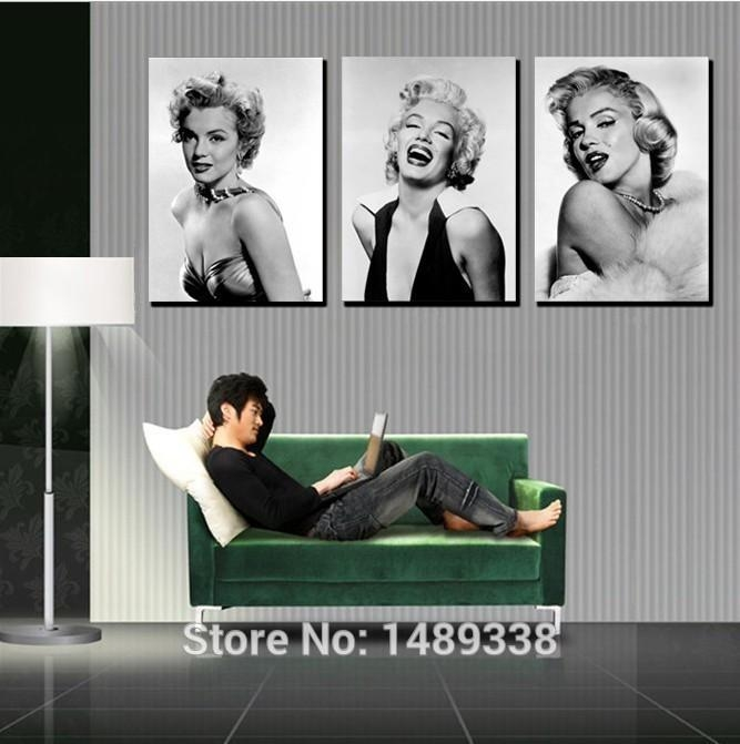 Online Get Cheap Marilyn Monroe Framed Art Aliexpress Throughout Marilyn Monroe Framed Wall Art (View 18 of 20)