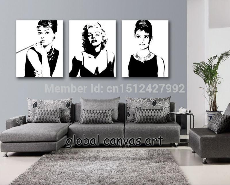 Online Get Cheap Marilyn Monroe Framed Art  Aliexpress Throughout Marilyn Monroe Wall Art (Image 14 of 20)
