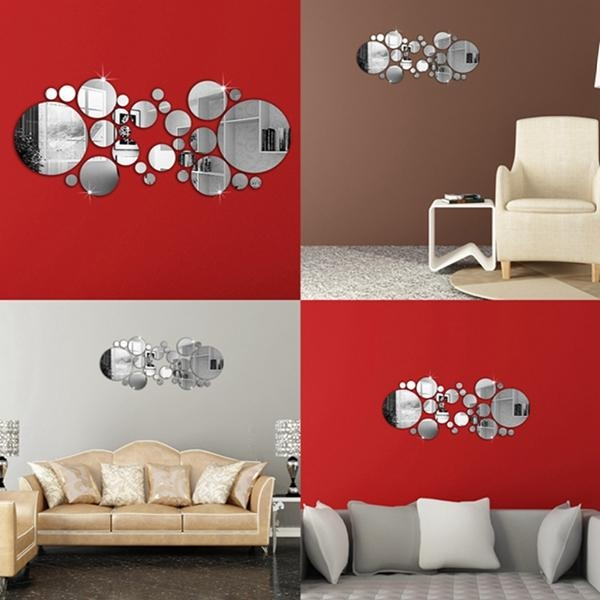 Online Get Cheap Metal Circle Wall Art  Aliexpress | Alibaba Group For 3D Circle Wall Art (Image 18 of 20)