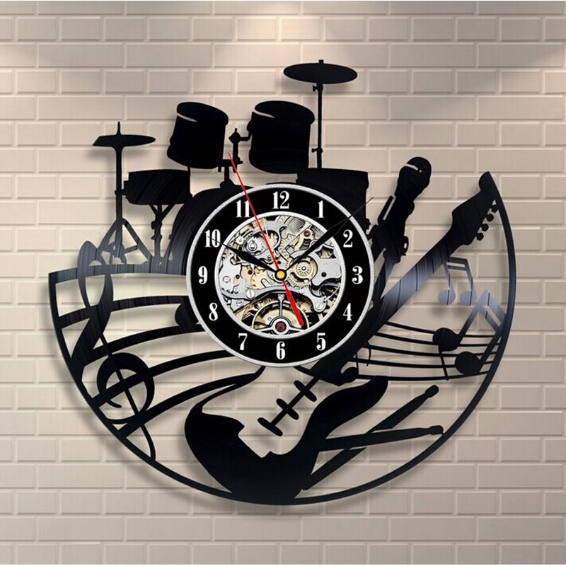 Online Get Cheap Music Themed Clocks Aliexpress | Alibaba Group Intended For Music Theme Wall Art (View 15 of 20)