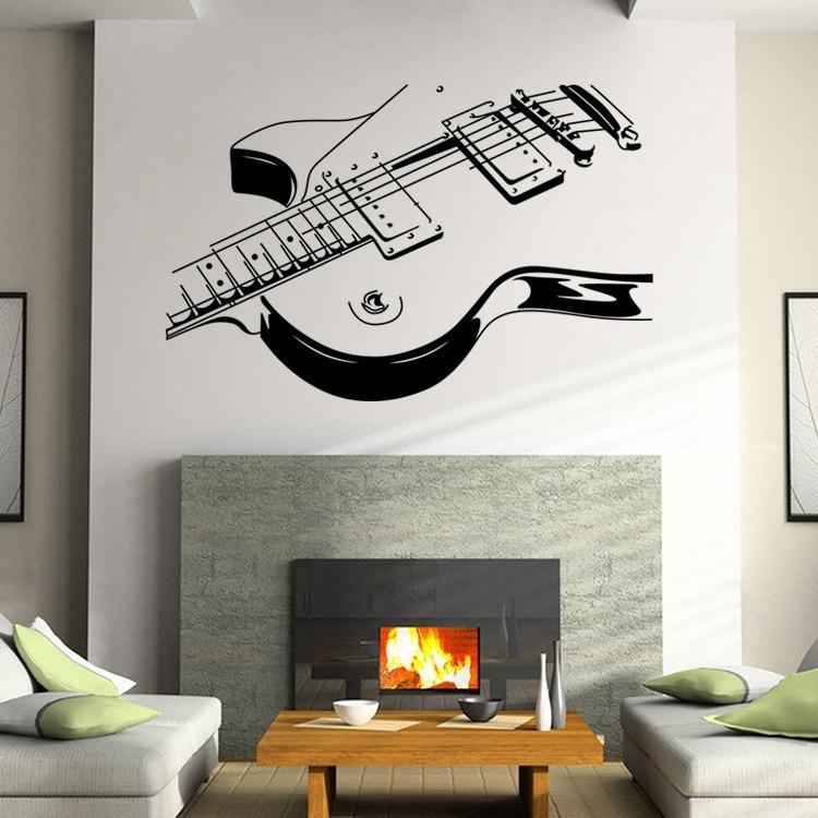 Online Get Cheap Musical Wall Decals  Aliexpress | Alibaba Group Throughout Music Themed Wall Art (Image 18 of 20)