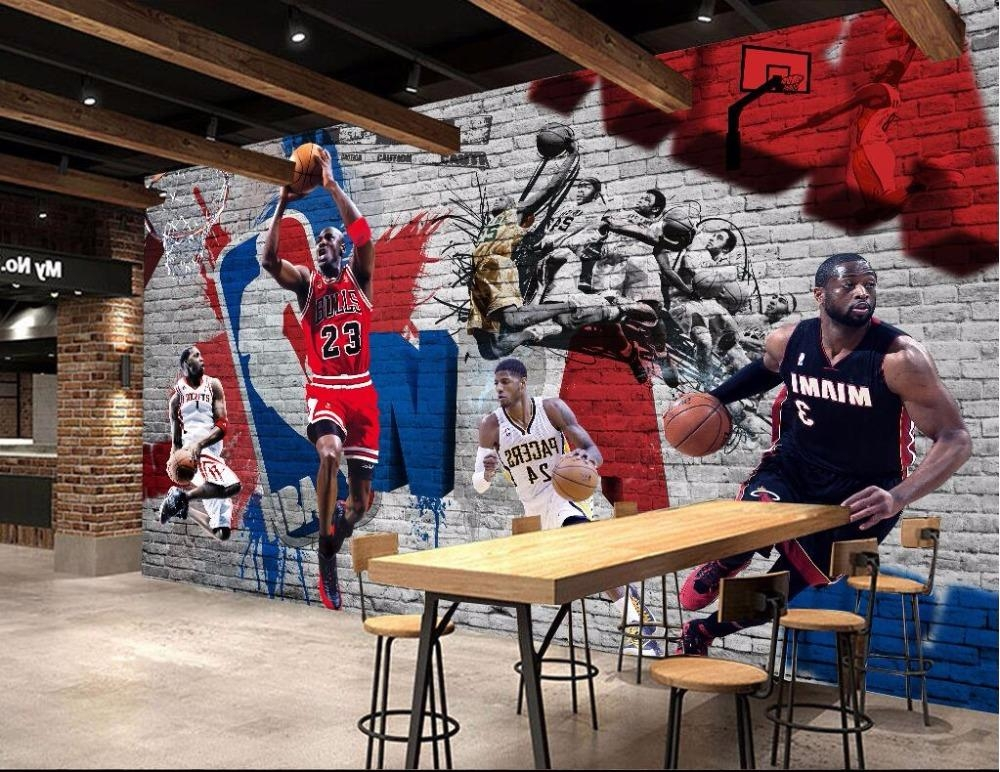 Online Get Cheap Nba Heat Aliexpress | Alibaba Group With Regard To Nba Wall Murals (View 5 of 20)