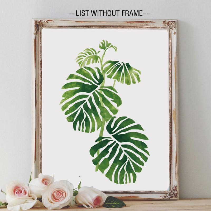 Online Get Cheap Palm Leaves Art  Aliexpress | Alibaba Group Pertaining To Palm Leaf Wall Decor (Image 8 of 20)