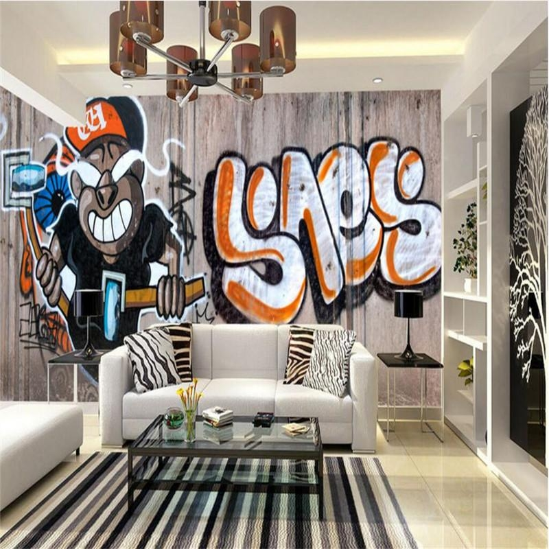 Online Get Cheap Personalized Graffiti Wall Art  Aliexpress Throughout Personalized Graffiti Wall Art (Image 11 of 20)