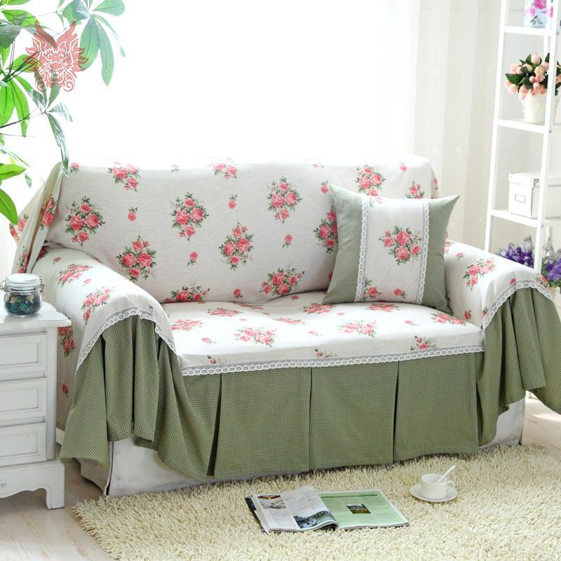 Online Get Cheap Pink Sofa Slipcover Aliexpress | Alibaba Group Throughout Floral Slipcovers (View 16 of 20)