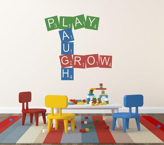Online Get Cheap Playroom Wall Art  Aliexpress | Alibaba Group With Playroom Wall Art (Image 13 of 20)