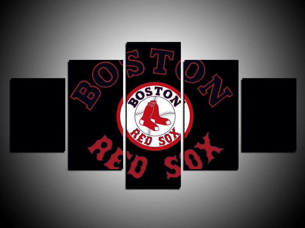 Online Get Cheap Red Sox Canvas  Aliexpress | Alibaba Group Pertaining To Red Sox Wall Art (Image 19 of 20)