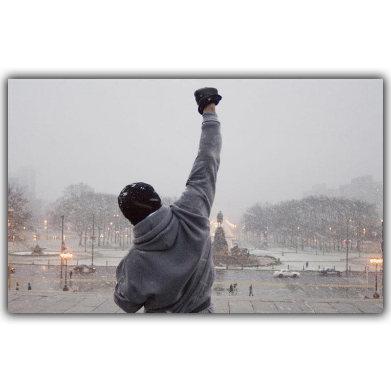 Online Get Cheap Rocky Balboa Wall Art  Aliexpress | Alibaba Group Pertaining To Rocky Balboa Wall Art (Image 14 of 20)
